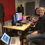 """Bei den Vorbereitungen (Mixing/Mastering) für mein neues Album """"LUCKY TWICE"""" in den FMM Studios von Francesco Mangiaracina"""