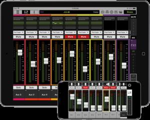 Mackie Master Fader iOS App