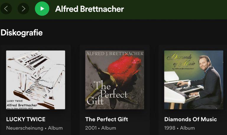Spotify Alfred Brettnacher